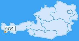 PLZ 6791 Österreich
