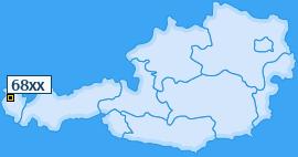 PLZ 68 Österreich