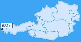 PLZ 681 Österreich