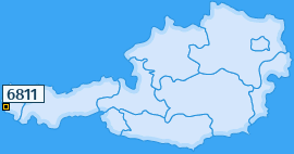 PLZ 6811 Österreich