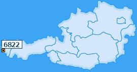 PLZ 6822 Österreich