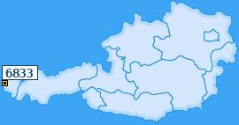 PLZ 6833 Österreich