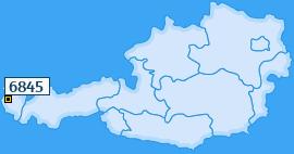PLZ 6845 Österreich