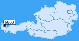 PLZ 6863 Österreich