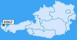 PLZ 6867 Österreich
