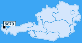 PLZ 6870 Österreich
