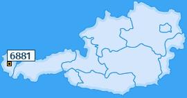 PLZ 6881 Österreich