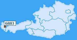 PLZ 6883 Österreich