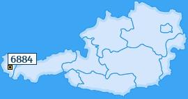 PLZ 6884 Österreich