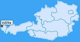 PLZ 689 Österreich