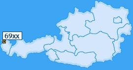 PLZ 69 Österreich