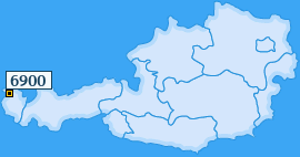 PLZ 6900 Österreich