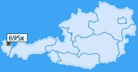 PLZ 695 Österreich