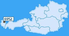 PLZ 6952 Österreich