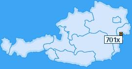 PLZ 701 Österreich