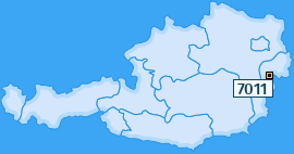 PLZ 7011 Österreich