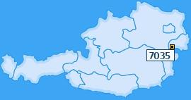 PLZ 7035 Österreich