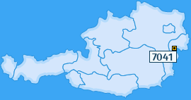 PLZ 7041 Österreich