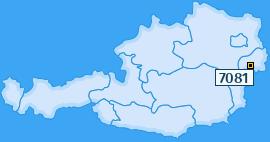PLZ 7081 Österreich