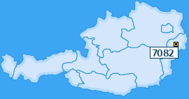 PLZ 7082 Österreich