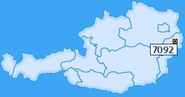 PLZ 7092 Österreich