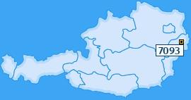 PLZ 7093 Österreich