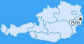 PLZ 7100 Österreich