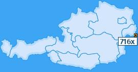 PLZ 716 Österreich