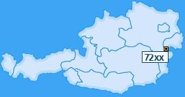 PLZ 72 Österreich