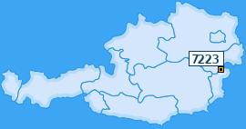PLZ 7223 Österreich