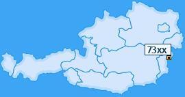 PLZ 73 Österreich
