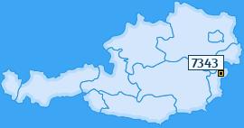 PLZ 7343 Österreich