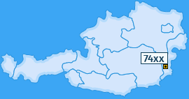 PLZ 74 Österreich