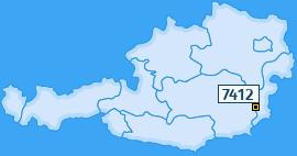 PLZ 7412 Österreich