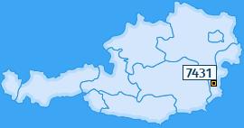 PLZ 7431 Österreich