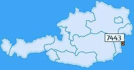 PLZ 7443 Österreich