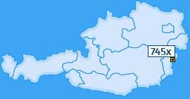 PLZ 745 Österreich