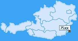 PLZ 75 Österreich