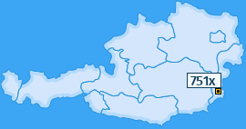 PLZ 751 Österreich