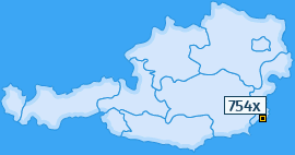 PLZ 754 Österreich