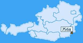 PLZ 756 Österreich