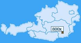 PLZ 800 Österreich