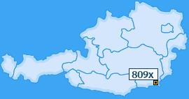 PLZ 809 Österreich