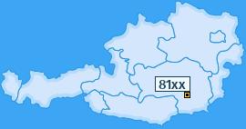 PLZ 81 Österreich