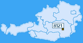 PLZ 8121 Österreich