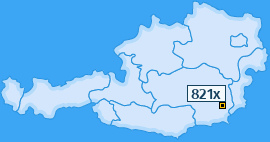 PLZ 821 Österreich