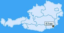 PLZ 83 Österreich