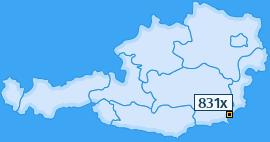 PLZ 831 Österreich