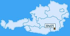 PLZ 8401 Österreich
