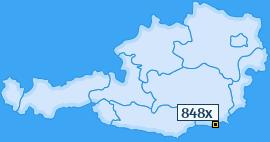 PLZ 848 Österreich